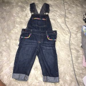 12 month girls overalls